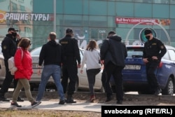 Задержания в Минске во время акции 27 марта этого года