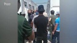 В нескольких блоках карантинной зоны «Уртасарай» произошел бунт