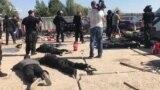 Відео сутичок на Осокорках у Києві. Поліція затримала десятки невідомих, що «охороняли» забудову