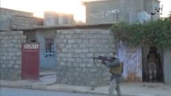 Mosulda film kimi küçə döyüşləri