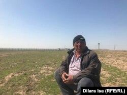 Скотовод Орынбай Мусалиев. Село Багыс, Туркестанская область, 7 апреля 2021 года.