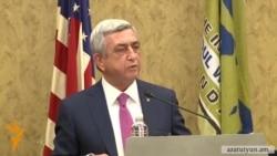 ՀՀ նախագահը շնորհակալություն է հայտնել ԱՄՆ Կոնգրեսին ԼՂ-ին հատկացված աջակցության համար