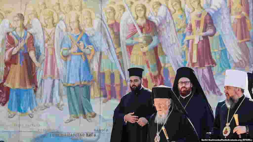 Патріарх Варфоломій приїздить до України втретє