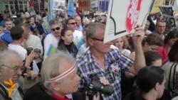 Protesters Denounce Putin's UN Appearance