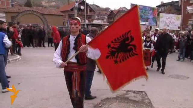 Shqiptarët e Luginës festojnë 100 vjetorin