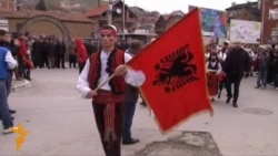 Ethnic Albanians In Serbia Celebrate Albanian Flag Day