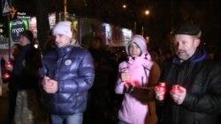 Пам'ятною ходою вшанували жертв Голодомору черкащани (відео)