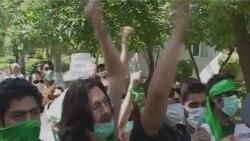 Iranians Continue Yerevan Embassy Protests