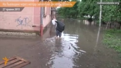 На Львівщині через негоду затоплені десятки будівель