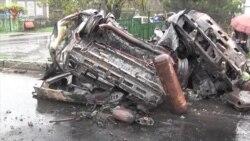 В Оленівці на КПП загинуло 4 цивільних (відео)