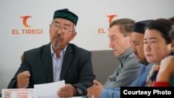 Гражданский активист Нагызхан Толеубаев. Нур-Султан, 13 сентября 2021 года