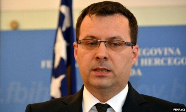 Nermin Džindić, ministar energije, industrije i rudarstva FBiH
