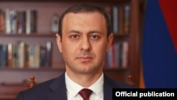 Секретарь Совета безопасности Армении Армен Григорян (архив)