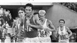 Москва Олимпиадасында 42 чакырым, 195 метр марафондук жарышта 43 өлкөнүн жеңил атлеттери күч сынашкан. (Сүрөттөр Жаштар иштери, дене тарбия жана спорт агенттигине таандык).