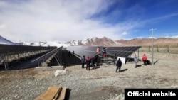USAID в сотрудничестве с «Памир Энерджи» сдало в эксплуатацию новую 220-киловаттную солнечную электростанцию в Мургабе