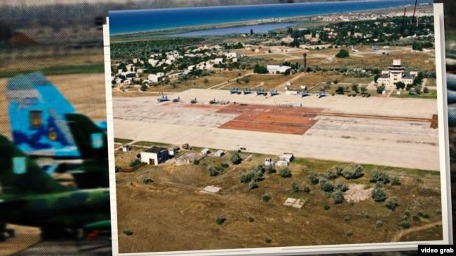 Крим. Кіровський військовий аеродром
