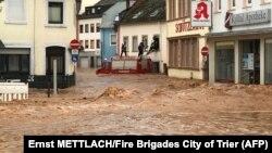 Германиянын батышындагы суу ташкыны. 15-июль, 2021-жыл.