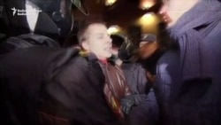 Protesters Detained In Putin's Hometown Of St. Petersburg