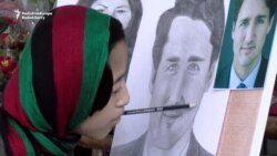 Canadian Politicians Inspire Paralyzed Afghan Artist
