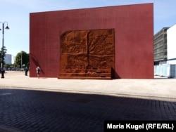 Мемориал в Риге в память о жертвах депортаций
