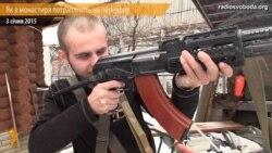 Украінскі манах пайшоў на фронт