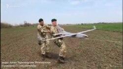 Украинские пограничники запустили беспилотник на админгранице с Крымом (видео)