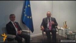 Սերժ Սարգսյանը ժամանել է Ստրասբուրգ