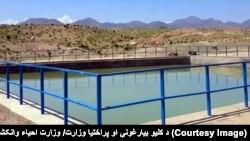 پروژه پاک کاری کاریزها در کابل