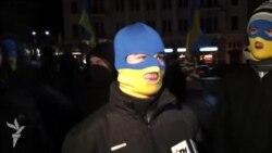 Харківські євромайданівці у супроводі «ультрас» пройшлися ходою