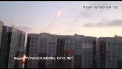 Qrad raketlərinin yaşayış binaları arasından yaylımı
