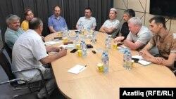 Встреча башкирских и татарских активистов и ученых в Уфе (23 июня 2021 г.)