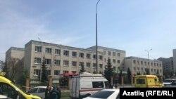 Здание гимназии № 175 в Казани.