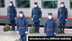 Севастопольцев отправляют в Ростов-на-Дону на службу в российской армии, 24 ноября 2020 года
