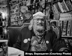 Коля Васин. Последний портрет. Август 2018 г. Санкт-Петербург