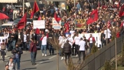 Protesti na ulicama Skoplja zbog presude u slučaju 'Monstrum'