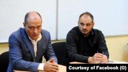 România - Fostul jurnalist Cristian Zărescu, pe vremea când era consilier al primarului sectorului 4, Daniel Băluță