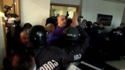In Dramatic Early Morning Raid, Georgian Police Arrest Opposition Leader