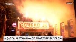Proteste în Serbia - Episodul 6