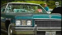 От «Феррари» до старинной пожарной машины. Выставка винтажных автомобилей в Вашингтоне