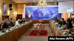 Иран менен Украинанын делегациялары Тегеранда. 19-октябрь, 2020-жыл.