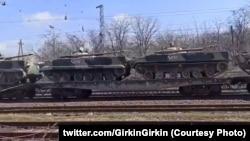 Техніку до українського кордону перекидають з Центрального воєнного округу