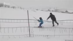 Нарынчане все больше втягиваются в горнолыжный спорт