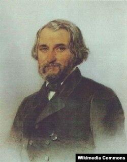 Аркадій Нікітін. «Портрет Івана Тургенєва», 1857 рік