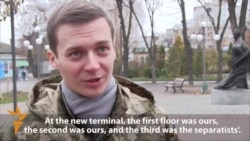 'Cyborg' Tells Of Donetsk Airport Battles