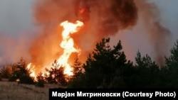 Пожар во Пехчево