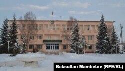 Ак-Талаа райондук администрациясынын имараты.