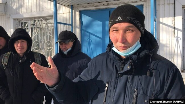 Сабит Оразгалиев, сотрудник компании «Биккор». Актобе, 8 февраля 2021 года.
