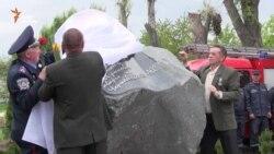 У Черкасах відкрили пам'ятник ліквідаторам аварії на ЧАЕС та заклали «Капсулу часу» (відео)