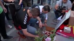 Мицкоски во дрес на Вардар му оддаде почит на навивачот Никола Саздовски
