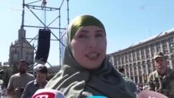 Амина Окуева — герой Майдана и критик Кадырова